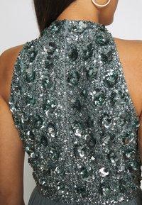 Lace & Beads - GUI MAXI - Suknia balowa - teal - 5