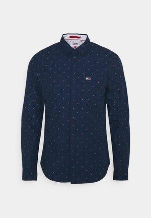 DOBBY SHIRT - Shirt - blue