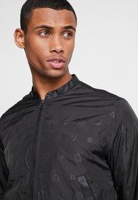Diamond Supply Co. - MONOGRAM JACKET - Summer jacket - black - 3
