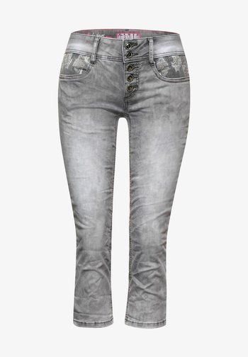 CASUAL FIT  - Slim fit jeans - grau