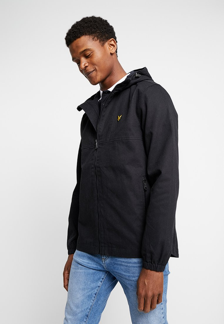 Lyle & Scott - JACKET - Summer jacket - true black