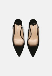 Dorothy Perkins Wide Fit - WIDEDESIRE POINT SLING COURT - Escarpins - black - 5