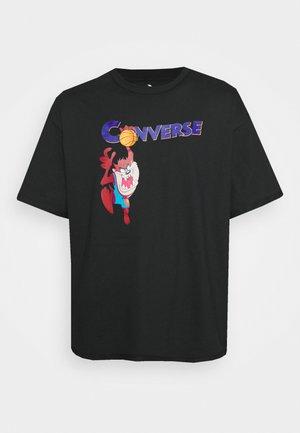 SPACE JAM COURT READY TEE UNISEX - Camiseta estampada - black