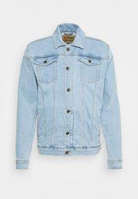 KASH JACKET - Denim jacket - sky blue