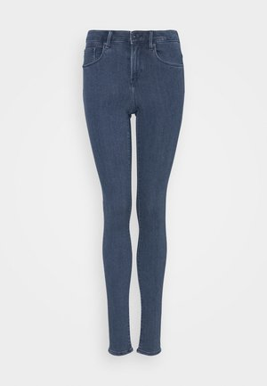 ONLRAIN LIFE - Jeans Skinny Fit - dark blue denim