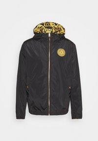 PRINT LOGO BAROQUE  - Summer jacket - black