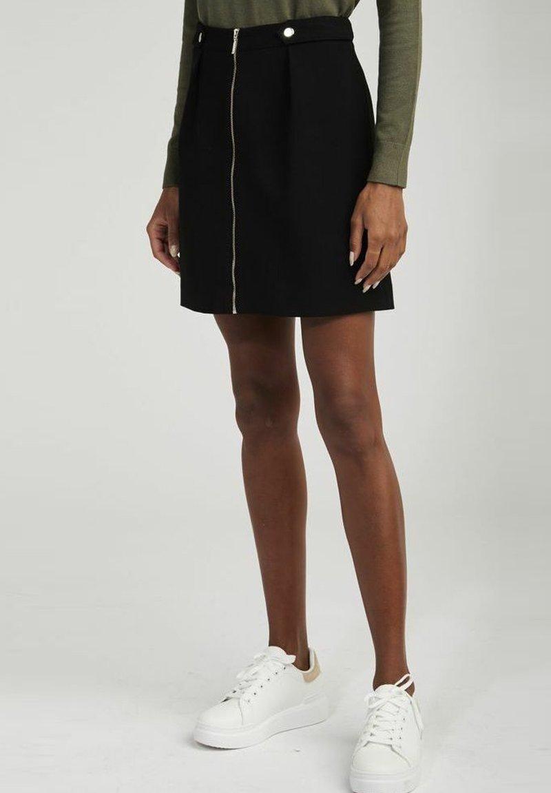 NAF NAF - A-line skirt - black