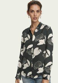 Scotch & Soda - DRAPEY  - Button-down blouse - combo a - 3
