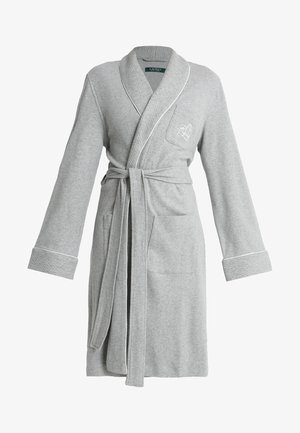 ESSENTIALS COLLAR ROBE - Accappatoio - heather grey