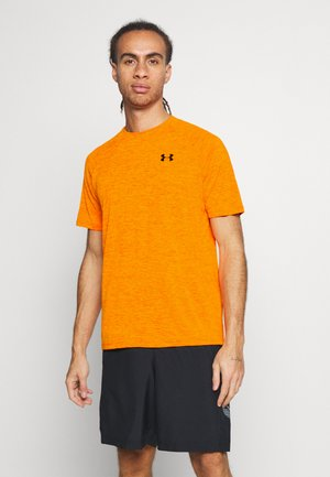 HEATGEAR TECH  - Print T-shirt - vibe orange