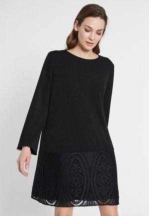 EDARA - Day dress - schwarz
