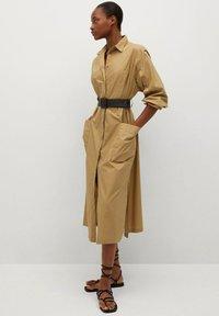 Mango - BELINDA - Košilové šaty - mellembrun - 1