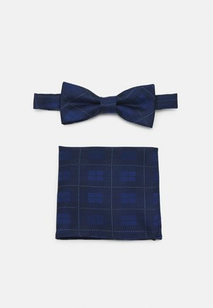 ONSTOBIAS BOW TIE BOX HANKERCHIE SET - Fazzoletti da taschino - dress blues