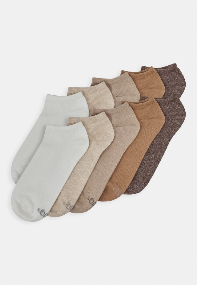 ONLINE ESSENTIAL SNEAKER 10 PACK UNISEX  - Socks - nature melange