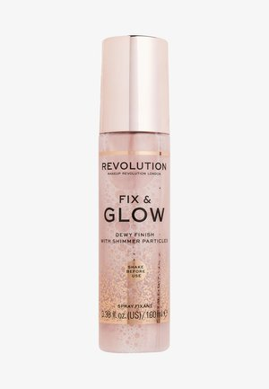 FIX & GLOW FIXING SPRAY - Setting spray & powder - -