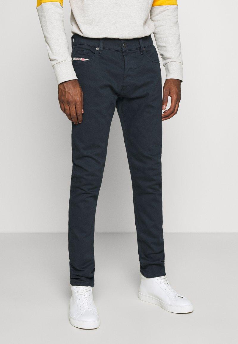 Diesel - D-LUSTER - Slim fit jeans - dark blue denim