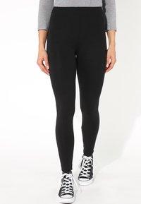 Tezenis - THERMO - Leggings - Trousers - nero - 0