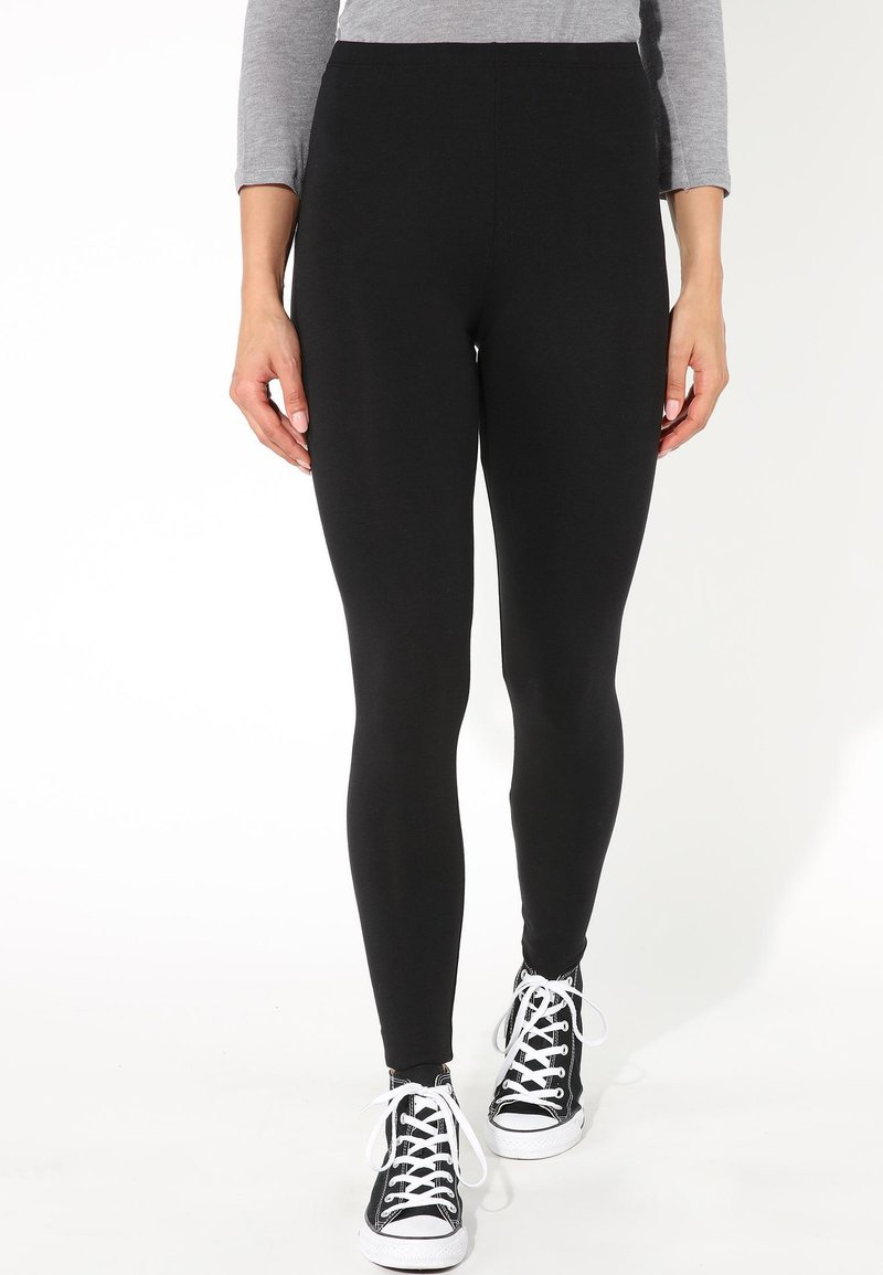 Tezenis - THERMO - Leggings - Trousers - nero