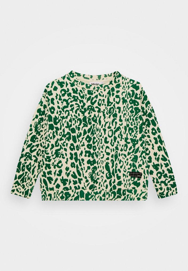 Molo - MIKA - Mikina - green leopard
