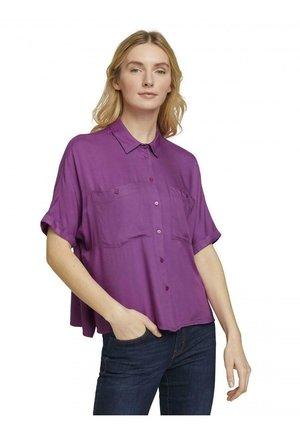 Overhemdblouse - violett