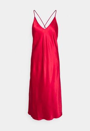 LONG DRESS - Nattskjorte - red