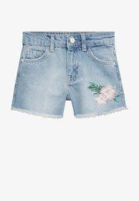 Mango - Denim shorts - middenblauw - 0