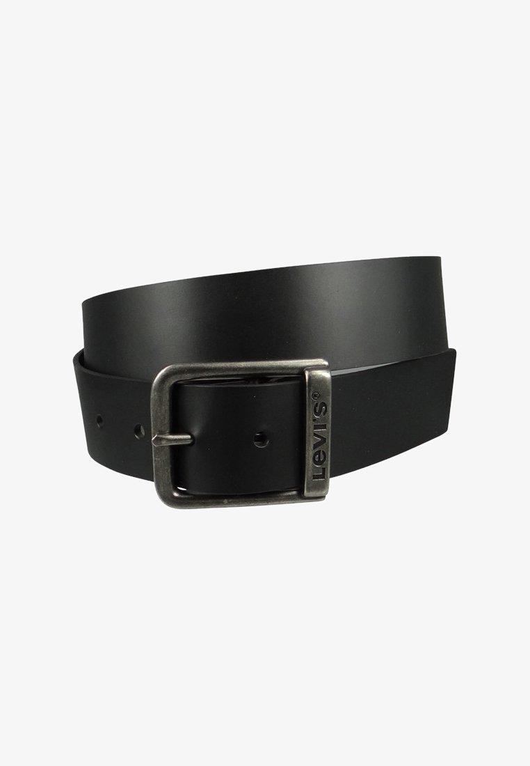 Levi's® - BRANDED BRIDGE BUCKLE - Formální pásek - regular black