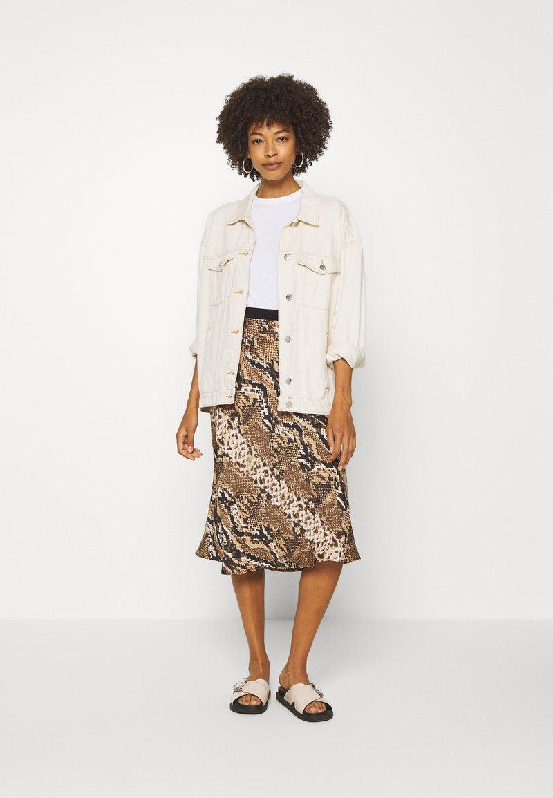 Anna Field 2 PACK - T-Shirt basic - white/black/weiß 6CaAgm