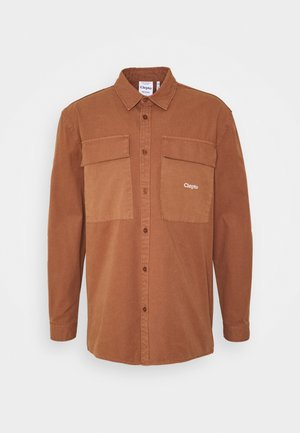 STEEZY - Summer jacket - friar brown