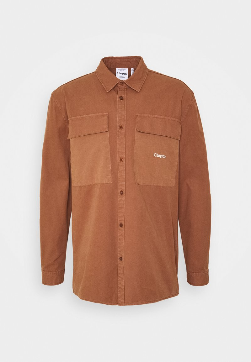 Cleptomanicx - STEEZY - Summer jacket - friar brown