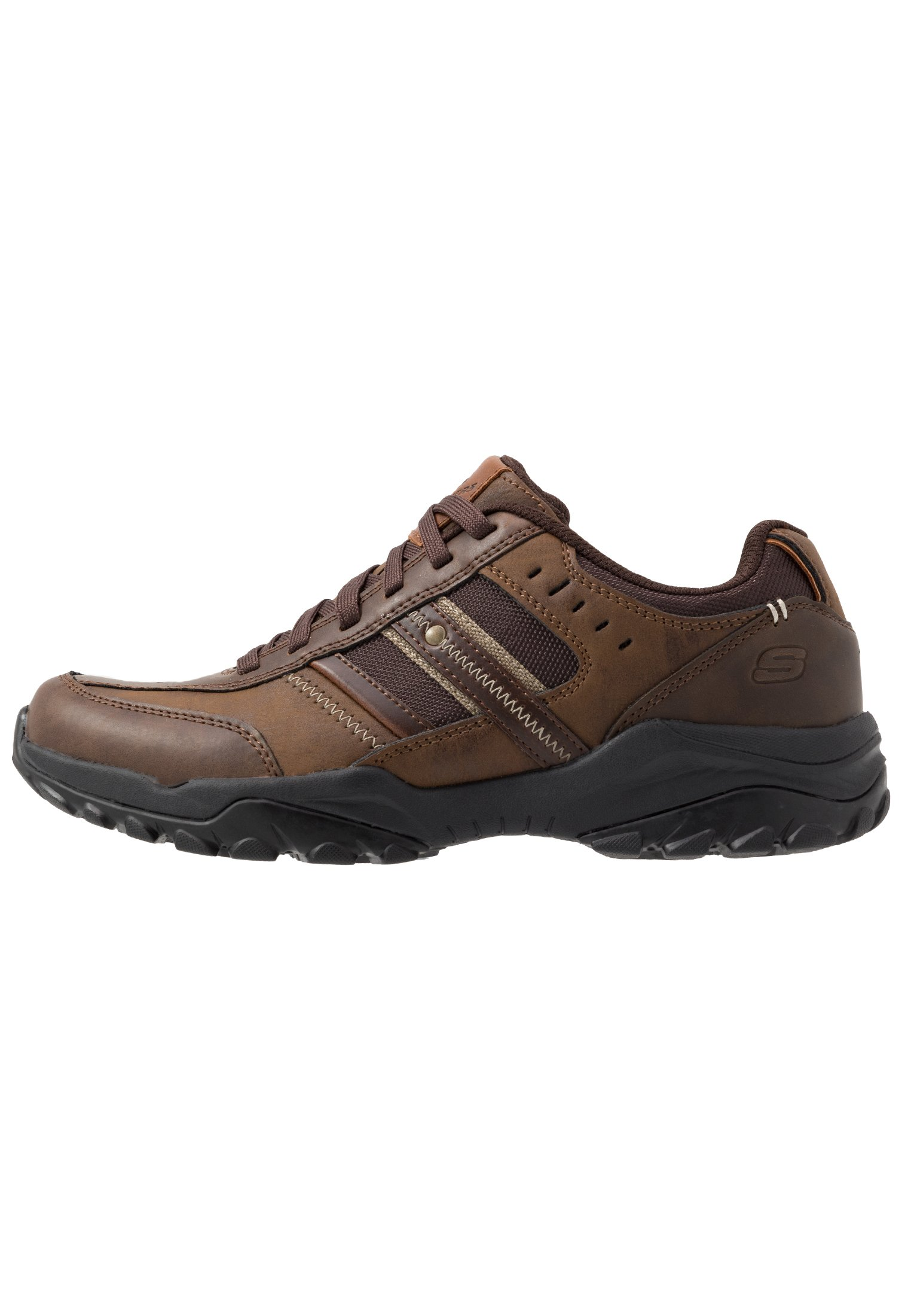 Skechers HENRICK Joggesko dark brown Zalando.no