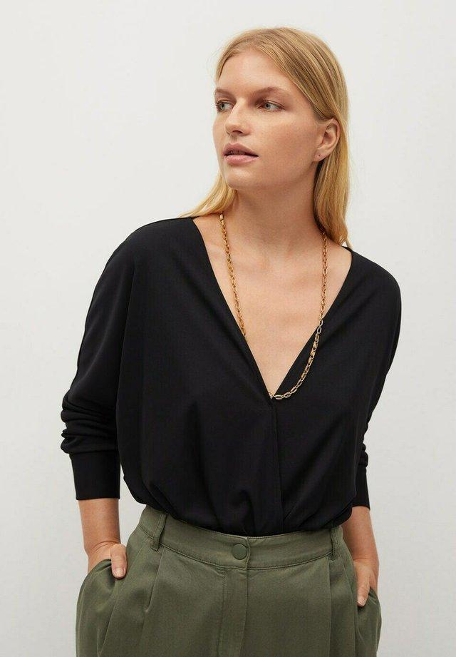 BLACK - Bluzka z długim rękawem - zwart