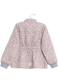 Wheat - THILDE - Winter jacket - dusty dove flowers - 2