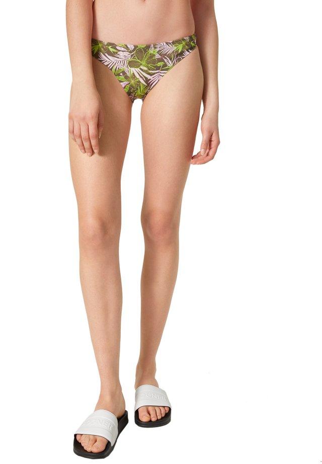 Bikinibroekje - khaki rosa hellgrün
