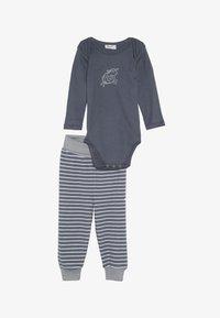 People Wear Organic - BABY - Kalhoty - dunkelgrau - 3