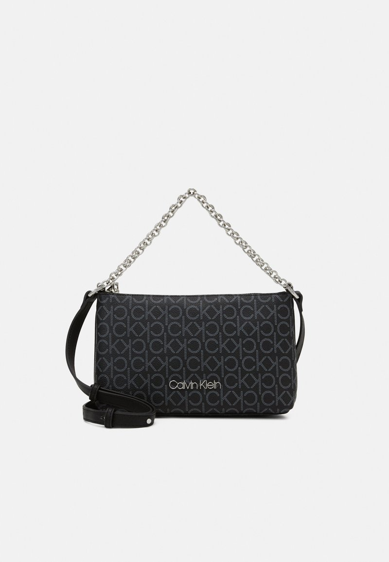 Calvin Klein - CROSSBODY CHAIN - Handbag - black