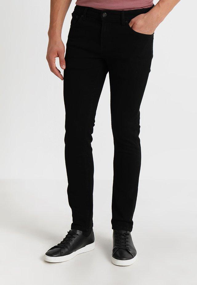 RYDER - Slim fit jeans - black denim