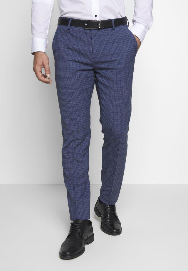 SLIM FIT FLEX - Pantalon classique - blue