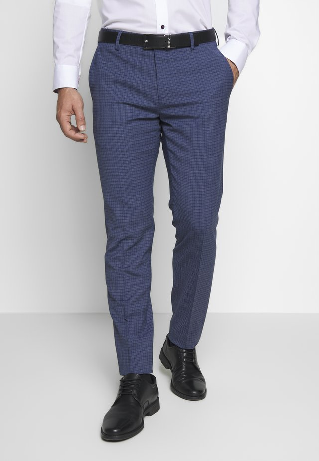 SLIM FIT FLEX - Pantaloni - blue
