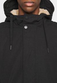 TOM TAILOR DENIM - SOFT  - Winter coat - black - 4