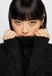 New Look Petite - ROLL NECK DRESS - Jumper dress - black - 3
