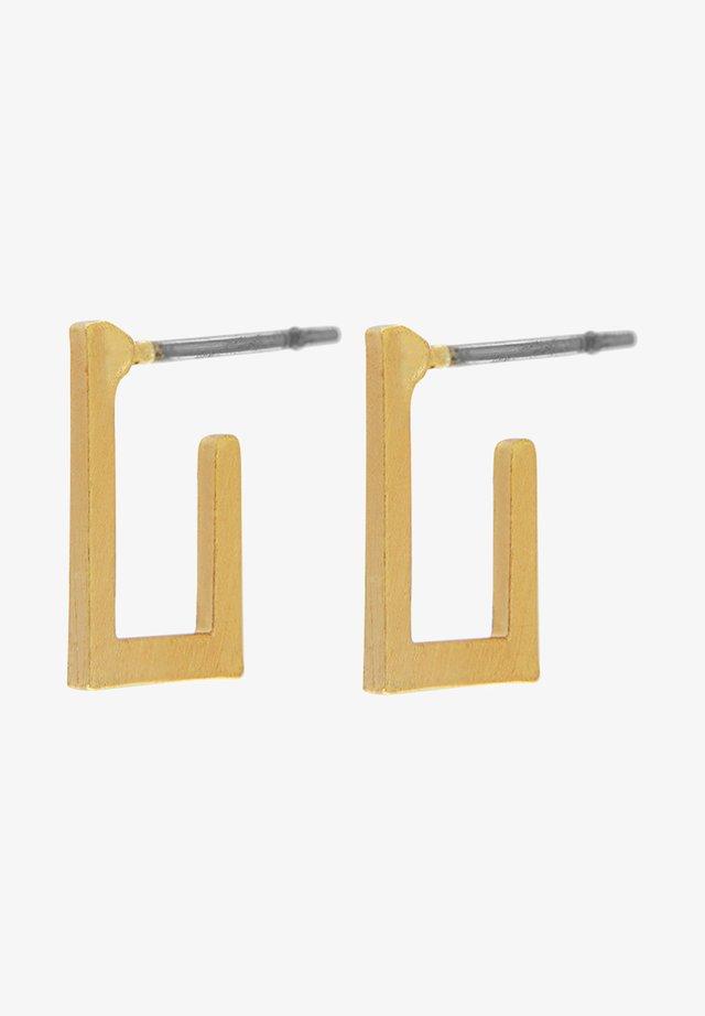 Oorbellen - gold plating