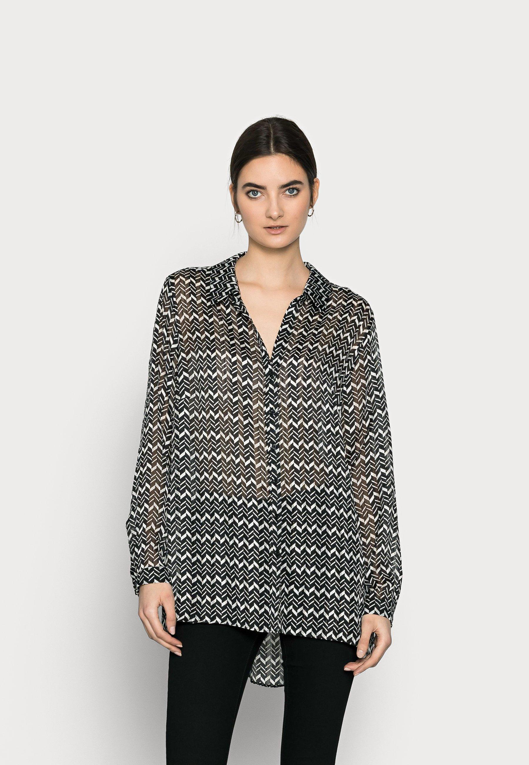Women CHEVRON  - Button-down blouse