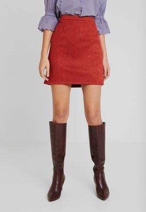 Mini skirts  - orange