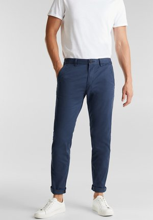 FASHION  - Chinos - grey blue