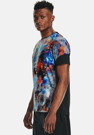 RUSH SS - Print T-shirt - concrete