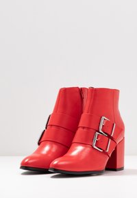 Even&Odd - Ankle boots - red - 4
