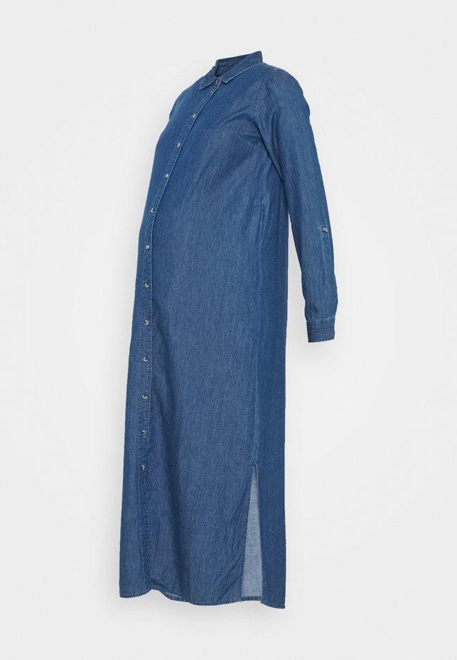 MLLAURI LIA DRESS - Denim dress - medium blue denim