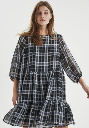 JEANNEIW  - Sukienka letnia - black/white