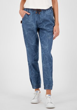 ALICIAAK  - Relaxed fit jeans - dark denim